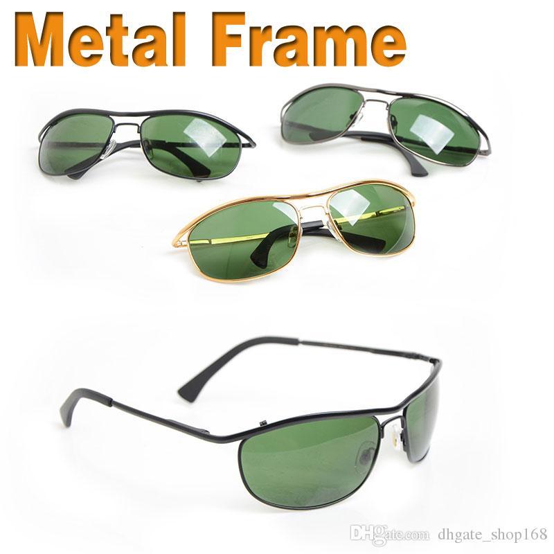 2a72967dc74 Brand New Designer Sun Glasses 8012 Men s Sunglasses Womens Glasses Green  Glass Lens Unisex Sunglasses Classic Glasses Brand Sunglasses Unisex  Designer ...