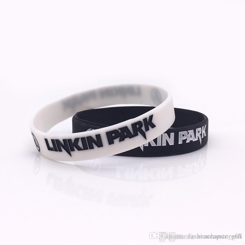 Retail Package Linkin Park Silicone Wristband Black Or White Color ...