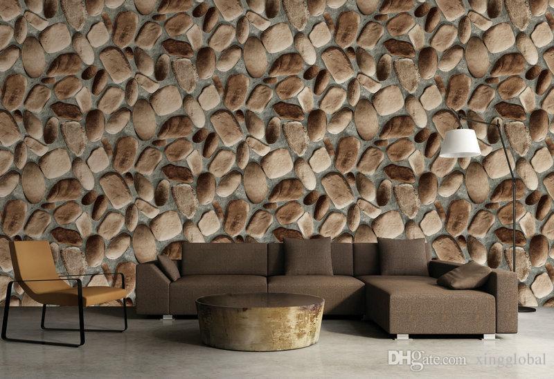 3d Slate Effect Wallpaper Stone Faux Rock Wallpaper Looks Like Stone Wall  Wholesale For Living Room Restaurant Hd Wall Wallpaper Hd Wallpaper From ...