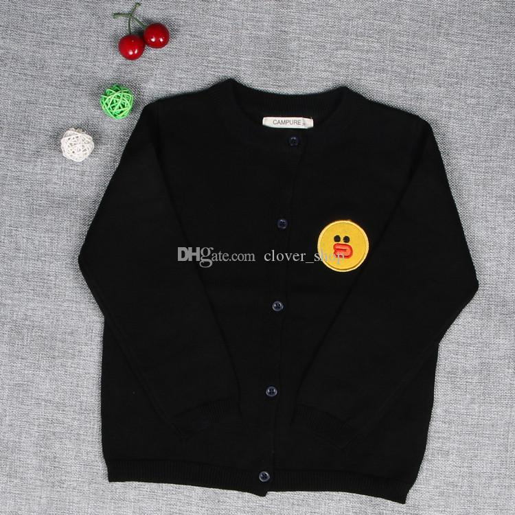 New Hot Children Clothing Kids Sweater Knitted Sweater Autumn Winter Girls Long Sleeve Cardigan Tops For Boys Girls