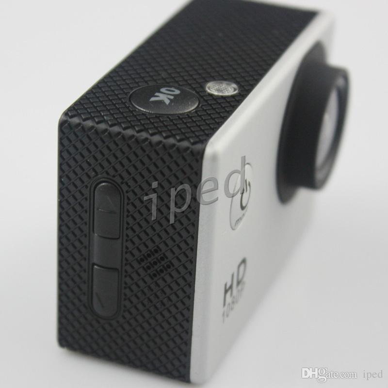 Cheap SJ4000 Стиль A9 2-дюймовый ЖК-экран Спортивная камера 1080P Full HD Действие Камера 30M Водонепроницаемые Видеокамеры Шлем Спорт DV VS 4K Красочный