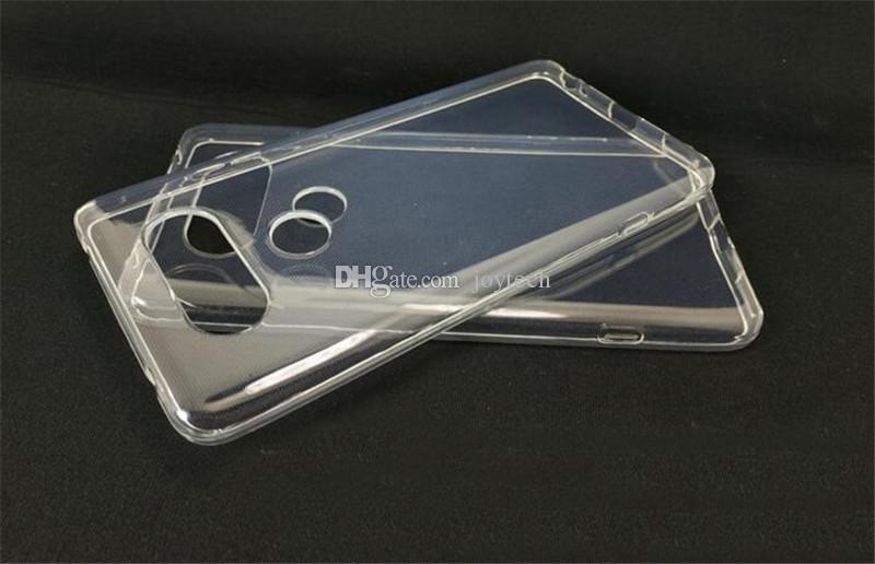 Süper Esnek Temizle TPU Kılıf lg v20 v10 Ince Kristal Geri Korumak Cilt Kauçuk Telefon Kapak Fundas Silikon Jel vaka