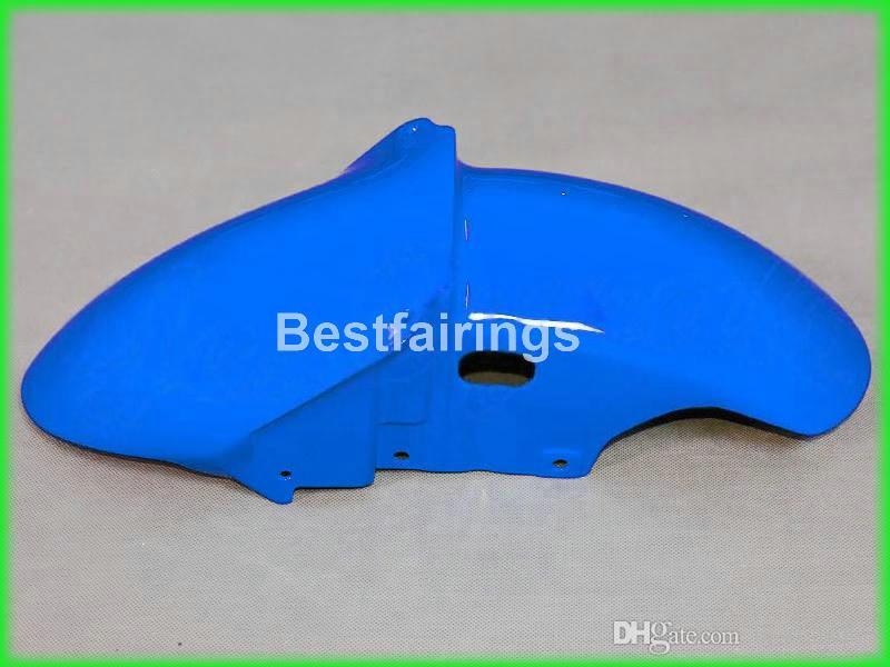 As carenagens de plástico mais vendidos para a Kawasaki Ninja ZX9R 98 99 azul kit de carenagem da motocicleta ZX9R 1998 1999 TY46