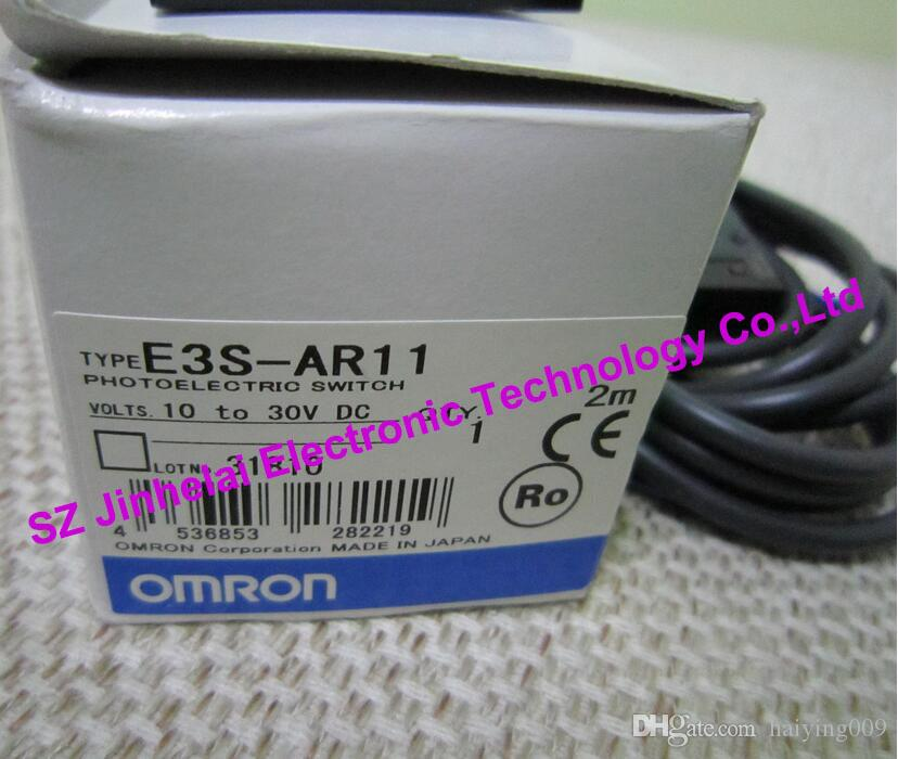 100% New and original E3S-AR11 OMRON Photoelectric sensor, Photoelectric switch 10-30VDC 2M