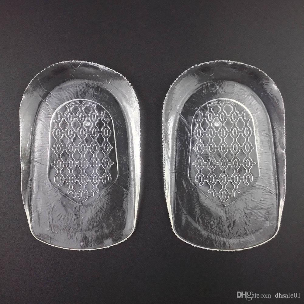 Feet Care Gel Heel Spur Pad Cup Insoles For Men Women With Retail Box