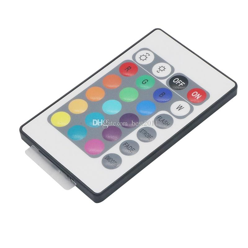 DC12V LED MIni WIFI RGBW Controller with 24key remote IOS/Android Mobile Phone wireless for RGB / RGBW LED Strip