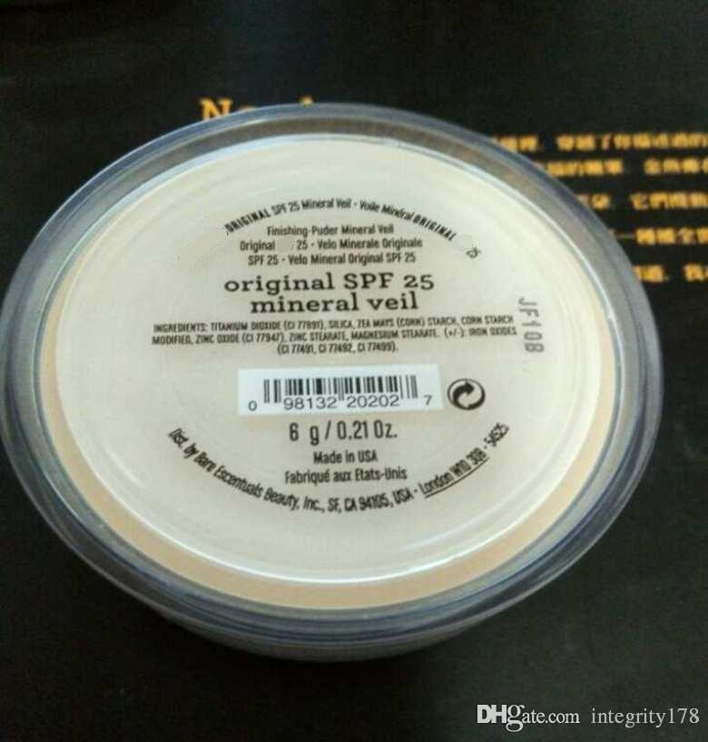 Trucco Minerali cipria Trucco polvere idratante velo minerale 6 g / Minerale illuminante 9 g / velo minerale 9 g / minerale mineralogato 9g