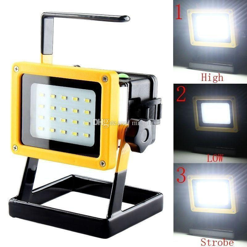 10w Cordless Rechargeable Battery Powered Smd Led
