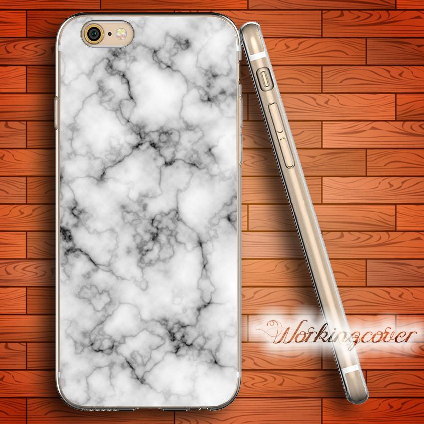 Cool Fundas Cracked White Marble Soft Clear Tpu Case For Iphone 6 6s 7 Plus 5s Se 5 5c 4s 4 Silicone Cover Leather Cell Phone Unique