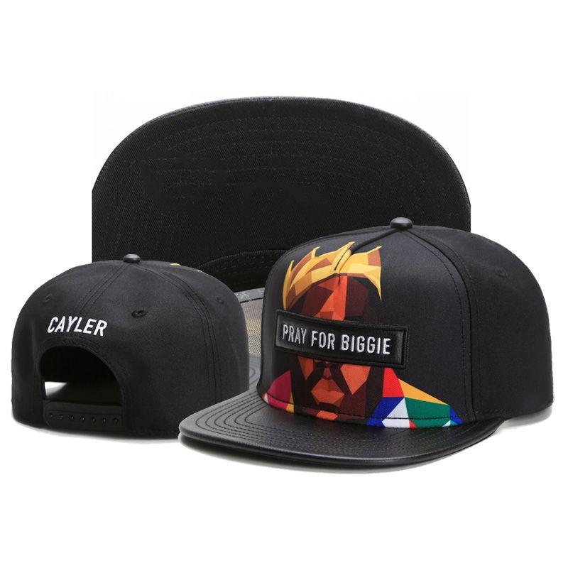 Cayler   Sons Snapback Cap 3D Printed PRAY FOR PAC   BIGGIE Funny Hats  Gorras Planas Hip Hop Caps For Men And Women 375c Baseball Caps For Men  Mesh Hats ... 1acfba99077