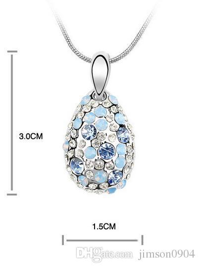 2017 nuevo 1000SE calidad productos de mujer collar de cristal Cyclamen de gama alta adornos colgantes venta al por mayor de joyería venta