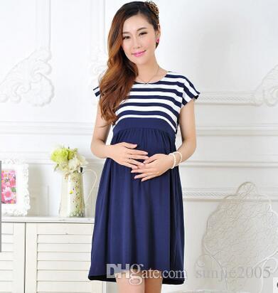 2017 New Women Long Dresses Maternity Nursing skirt for Pregnant Women Breastfeeding Women's Clothing Mother Home Clothes L/XL