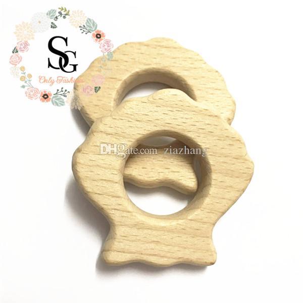 por loteNatural pássaro Wood Mordedor - teether madeira ave. Teether de madeira não tratada da dentição de madeira de alta qualidade, mordedor livre do bebê da segurança de BPA