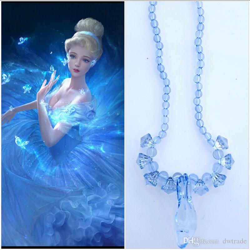 Новорожденных девочек Золушка аксессуары корона волшебная палочка ожерелье новорожденных девочек xmas наборы стразами корона бабочка палочка на высоких каблуках ожерелье