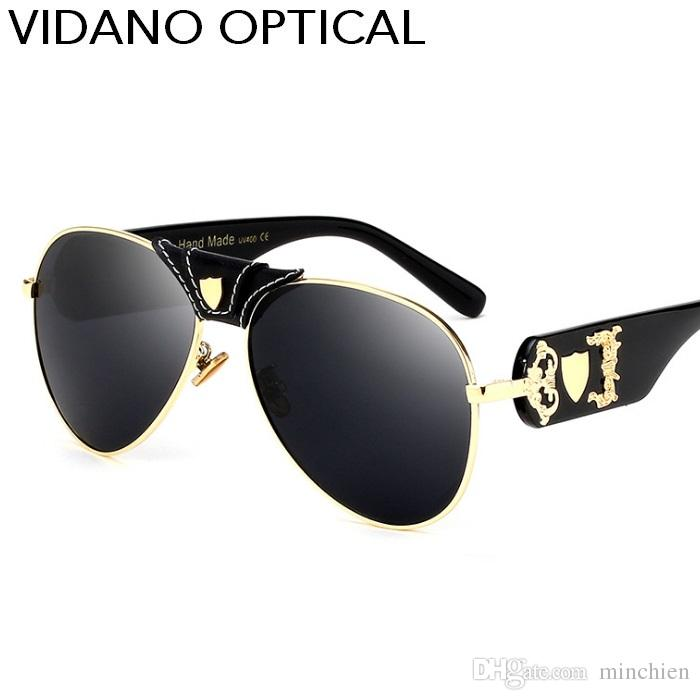 f96f4df9852 Vidano Optical 2017 Latest Arrival Luxury Pilot Sunglasses For Men ...