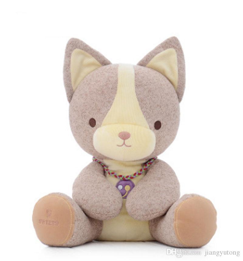 2019 Cute Goat Stuffed Animal Soft Toy Rabbit Dog Dinosaur Green