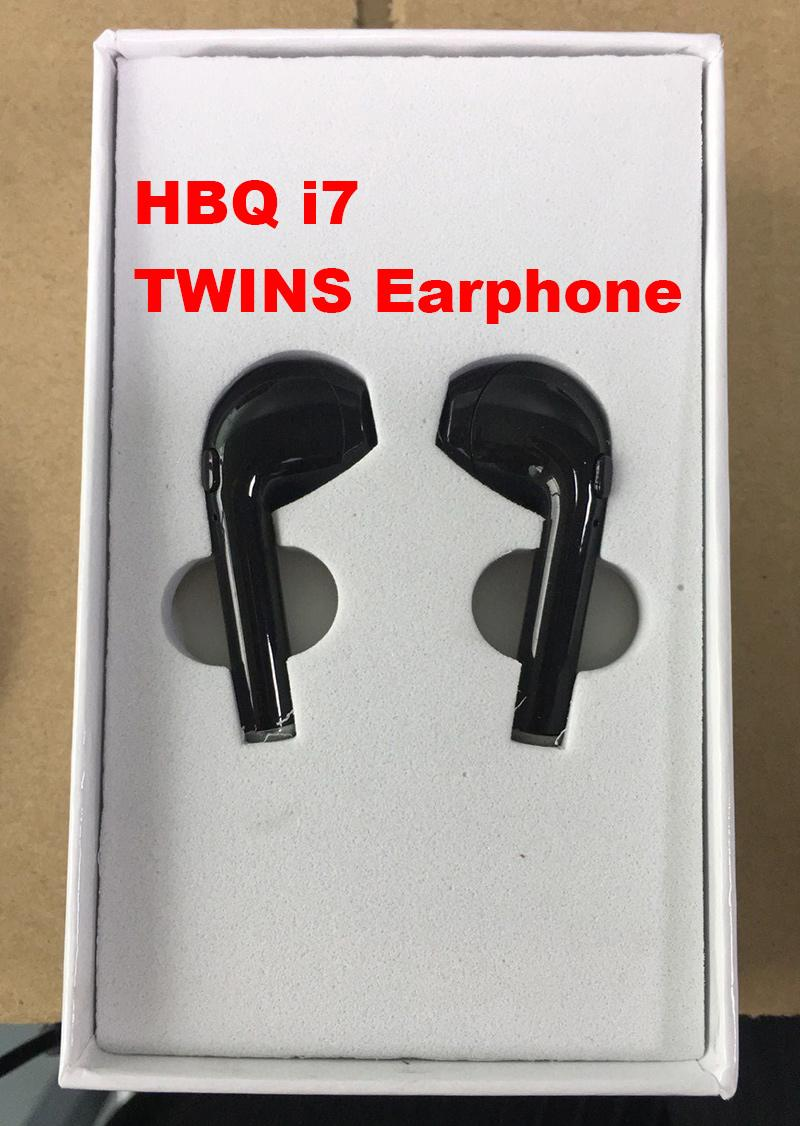 Hbq I7 Mini Bluetooth Twins Earphones Handsfree True Wireless Headsets Small In Ear Earbuds With