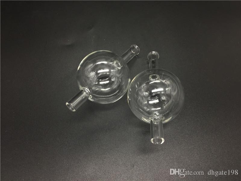 Bunte 50mm XXL Thermal P Banger Quarz Nagel Quarz Banger Carb Cap Universal farbige Glas Bubble Carb Cap Dabber Glas Carb Cap