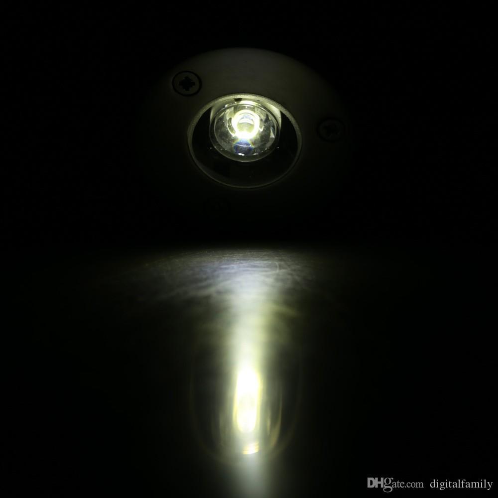 Водонепроницаемый LED похоронен огни IP67 встраиваемые шаг лампы патио брусчатка плинтус наружное освещение 1 Вт 3 Вт подземный светодиодный свет бассейн фонтан
