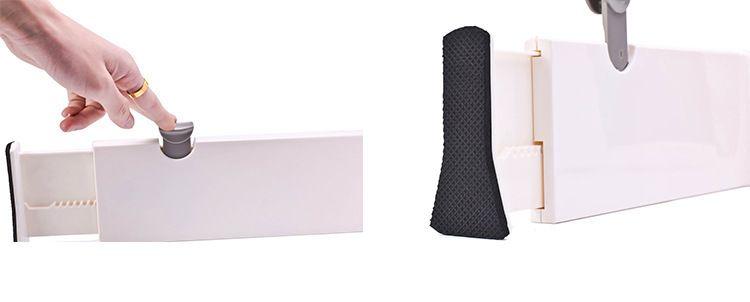 Cajón Divisor de tablilla Divisor organizador de almacenamiento de bricolaje divisor de tablilla de plástico de alta calidad