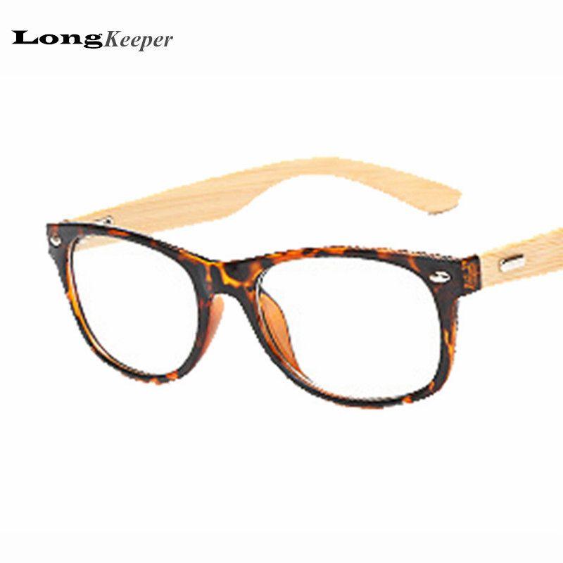 2018 Wholesale Fashion Bamboo Glasses Frame Men Women Wood ...