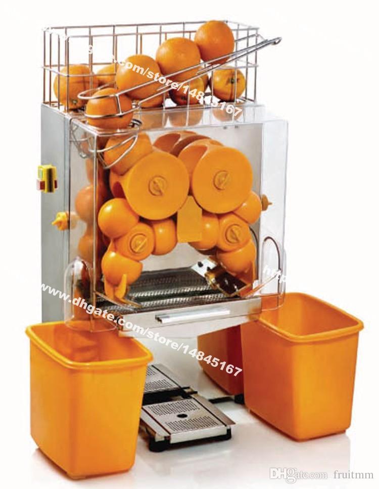 Commercial Manual Feed Automatic Fresh Fruit Lemon Orange Juicer