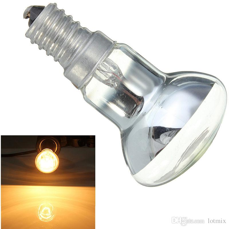 Glühbirne Edison Birne E14 SES 30W R39 Klar Reflektor Spot Glühbirnen Lava Lampe Glühlampe Beleuchtung 220V