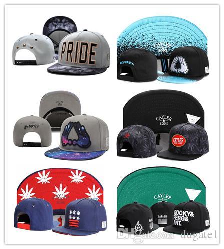 ea01400deb0192 HOT Hat Wholesale Snapbacks Ball Hats Fashion Street Headwear Adjustable  Size Cayler & Sons Custom Football Caps Drop Shipping Top Quality Baby Caps  47 ...