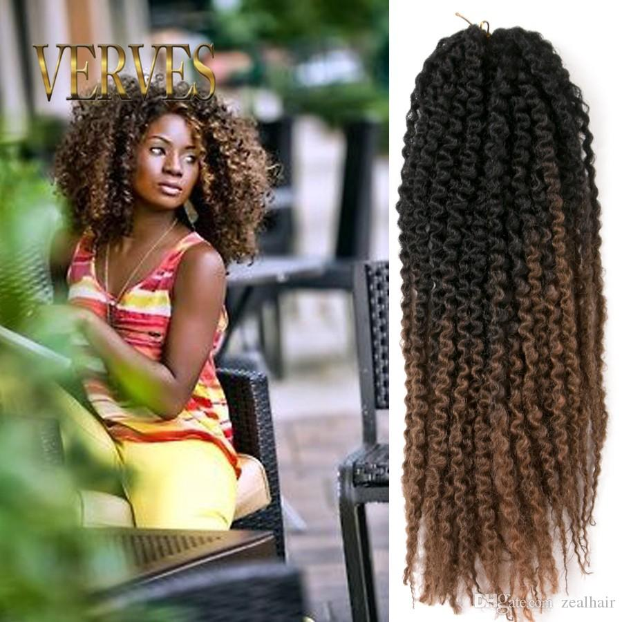 Afro kinky curly twist 20inch marley braid hair extension cheap leisure crochet best crochet for kids pmusecretfo Images