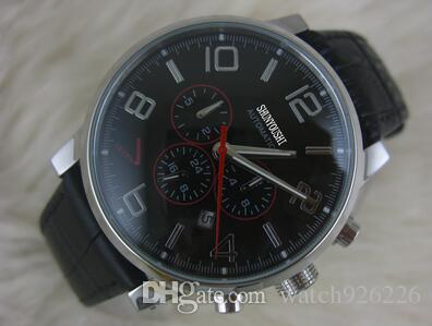 Chronologie automatique de la montre masculine à travers la montre noire de la montre masculine ML22