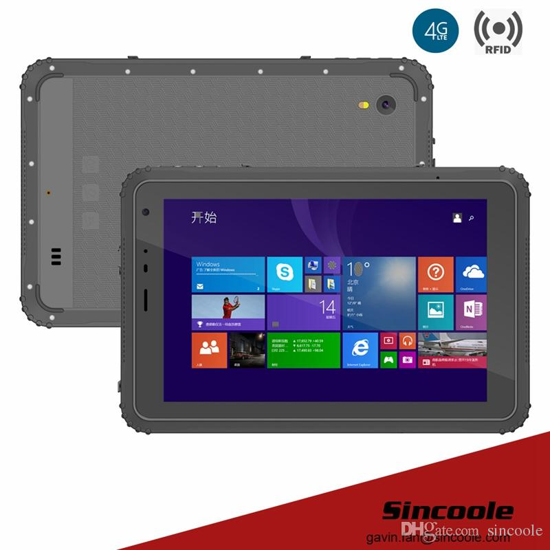 8 inch smart windows NFC rugged tablet tough pad and panel PC
