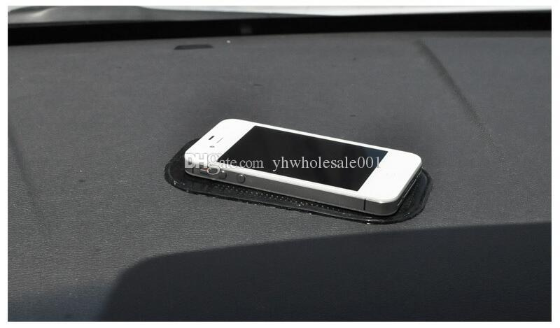 PU Gel Magic Sticky Pad Cellphone Anti Slip Non Slip Mat for Mobile Cell Phone PDA mp3 mp4 Car Accessories