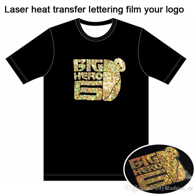 Custom t shirt free laser heat transfer lettering film t for Customized heat transfers for t shirts