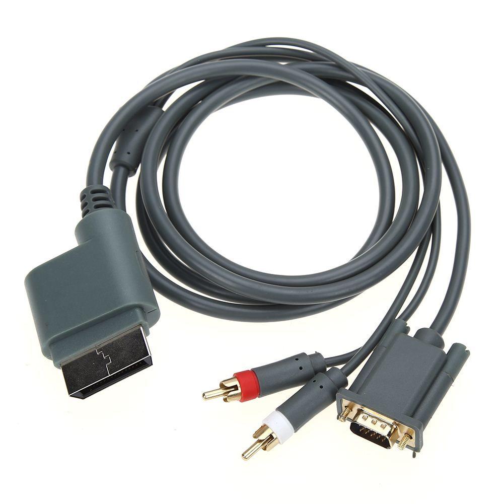 Großhandel Hd Slim Video Audio Av Pc Monitor Vga Kabel Kabel Stecker ...