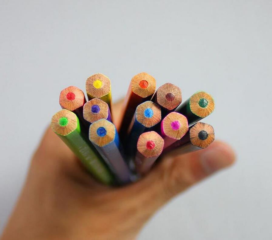 12pcs/set 24pcs/set Colored Pencil Painting Set Non-toxic Color Pencil DIY Secret Garde Drawing Pencil For Kid Adult Coloring Books