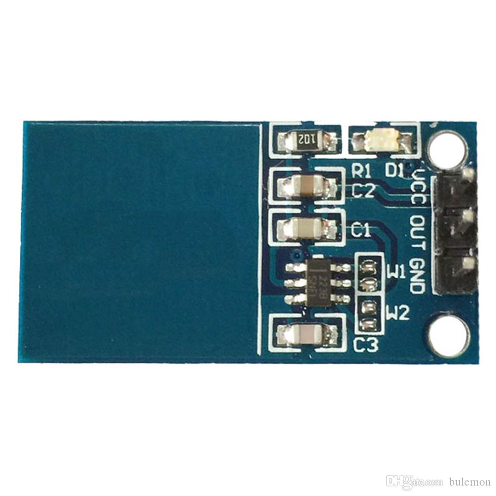 TTP223  Capacitive Touch Switch Self Locking Button Module Arduino UK Seller