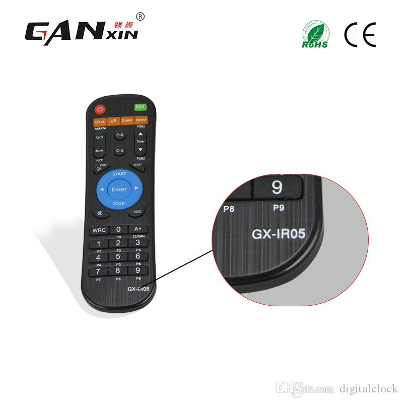 [GANXIN]Multifunction Remote control for LED gym timer GX-IR05 Model Fitness Equipment Wireless Control Powered AA Battery Wholesale