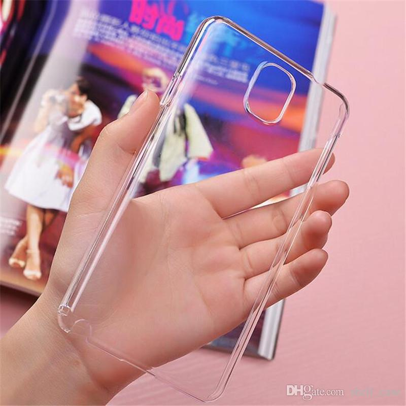 Para Iphone 7 Hard Clear PC Funda Transparente Ultra Thin Slim Back Cover Cases para iphone 7 6 6s más samsung galaxy s8 s7 s6 a5 a7 a8 a9 j5