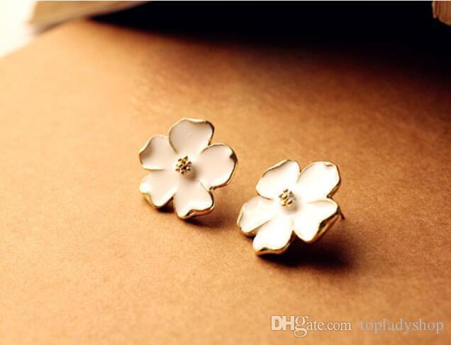 Online cheap white drop oil super beautiful jasmine flower stud online cheap white drop oil super beautiful jasmine flower stud earrings wholesale by topladyshop dhgate mightylinksfo Choice Image