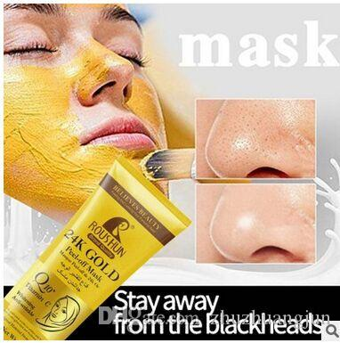 150g brand quality 24k gold peel-off mask vitamin C whitening anti-wrinkle vies feed and freshness for the skin