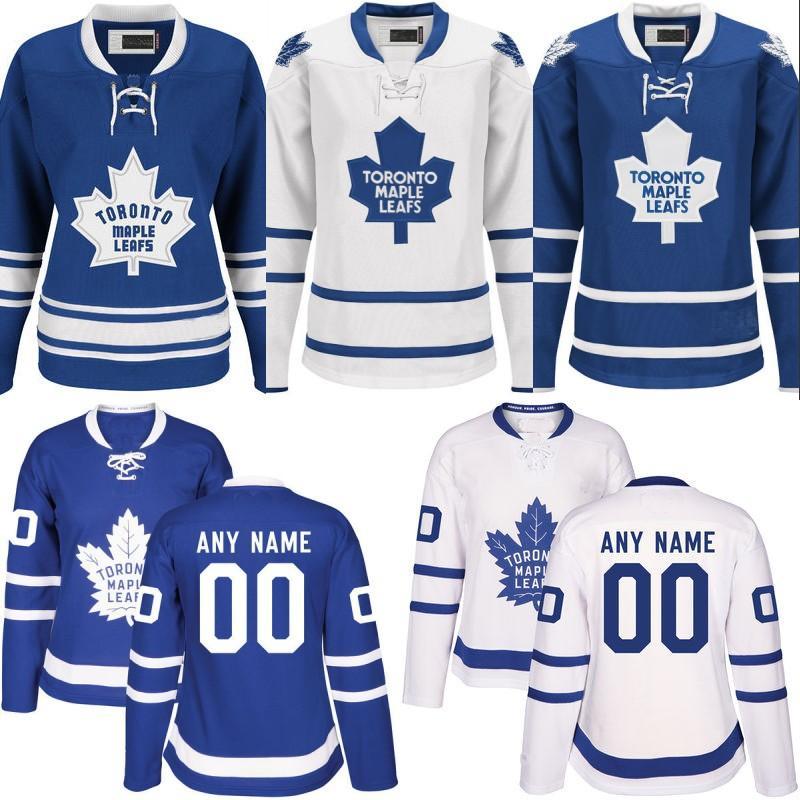uk availability 7cbd0 10d41 Womens Toronto Maple Leafs Jersey 51 Jake Gardiner 2 Ron Hainsey 46 Roman  Polak 44 Morgan Rielly Cheap Stiched Custom Hockey Jerseys
