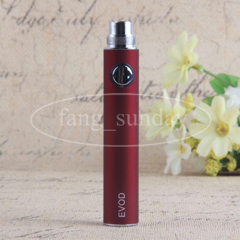 Preriscaldamento VV Evod Vapor Pen Tensione regolabile eCig 510 Thread Ego Batteria 650/900 / 1100mAh Dab Wax Oil Vaporizzatore Serbatoio