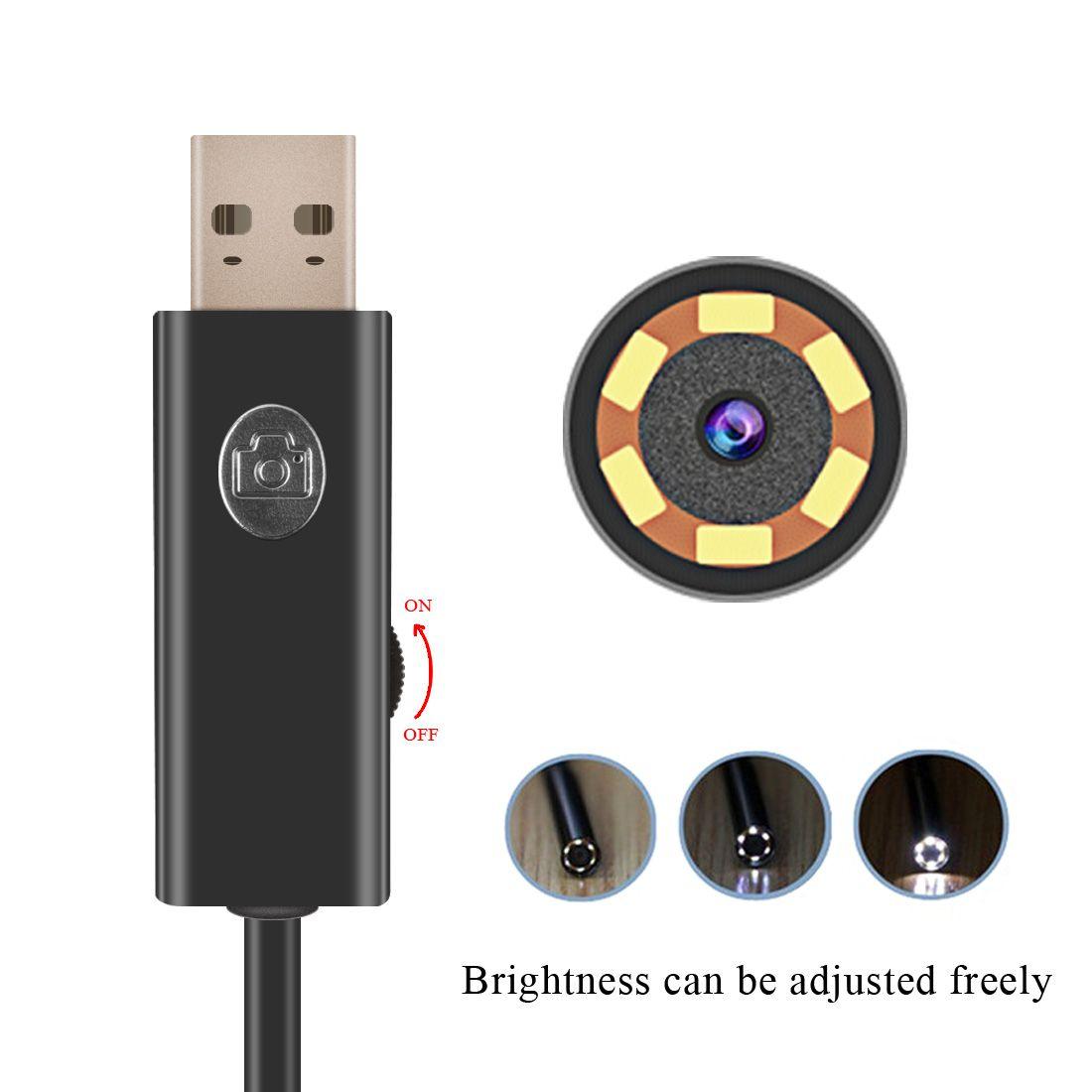 New Arrival Wireless Wifi Endoscope Camera HD 720P Waterproof Borescope Snake Tube Mini Camera For Android iOS Windows