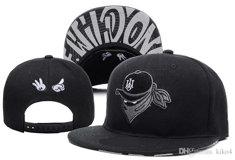 2017 NEWEST Fashion Brand X The Wild Ones Snapback Hats West Coast Gangsta  Cool Mens Hip Hop Caps Street Headwear Black Grey Red Ny Cap Mens Caps From  Kiko4 ... ed1ccc10db73