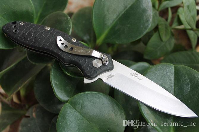 Commercio all'ingrosso Kershaw 1830 OSO Coltello Pieghevole Tattico 8Cr13Mov 58HRC Caccia di Campeggio Esterna Di Sopravvivenza Pocket Knife Utility Strumenti EDC