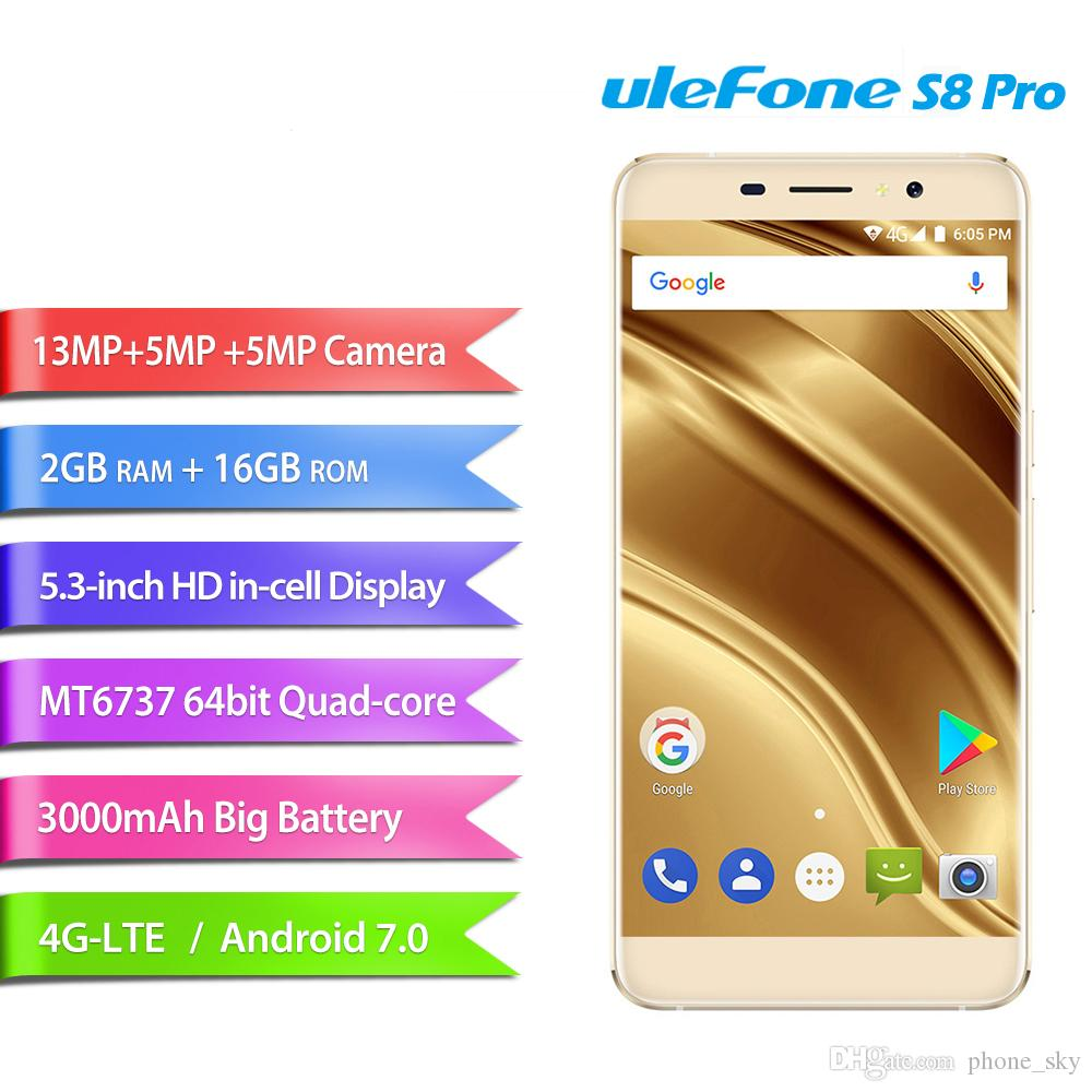 Smartphone Ohne Vertrag Handy Ulefone S8 Pro 53 Zoll Android 70 4g