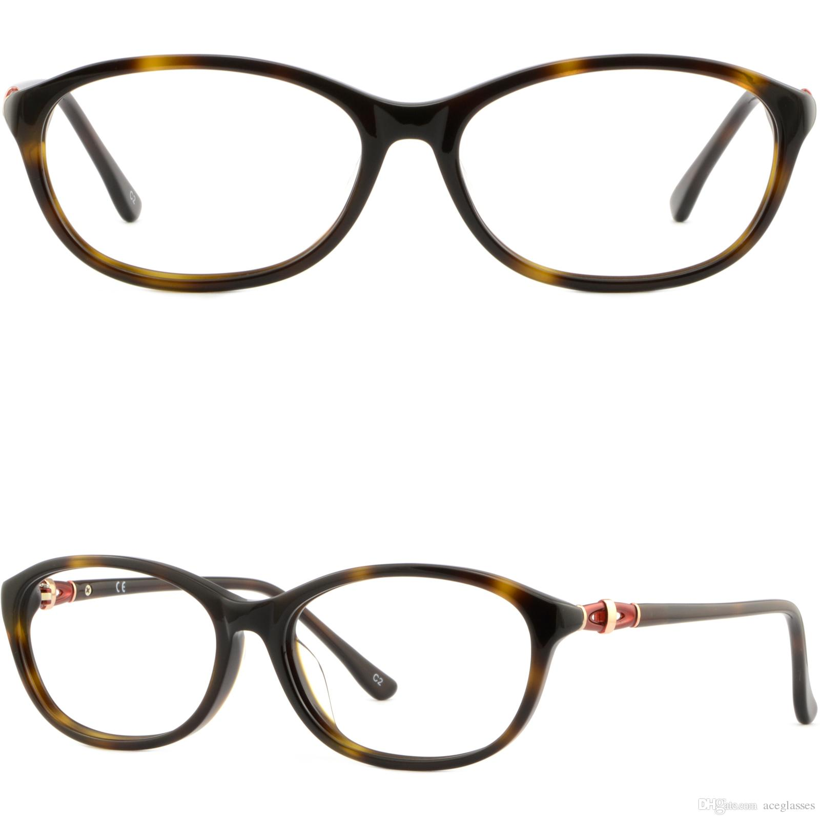 Großhandel Schildpatt Damen Brillen Acetate Brillen Brillen Brille ...