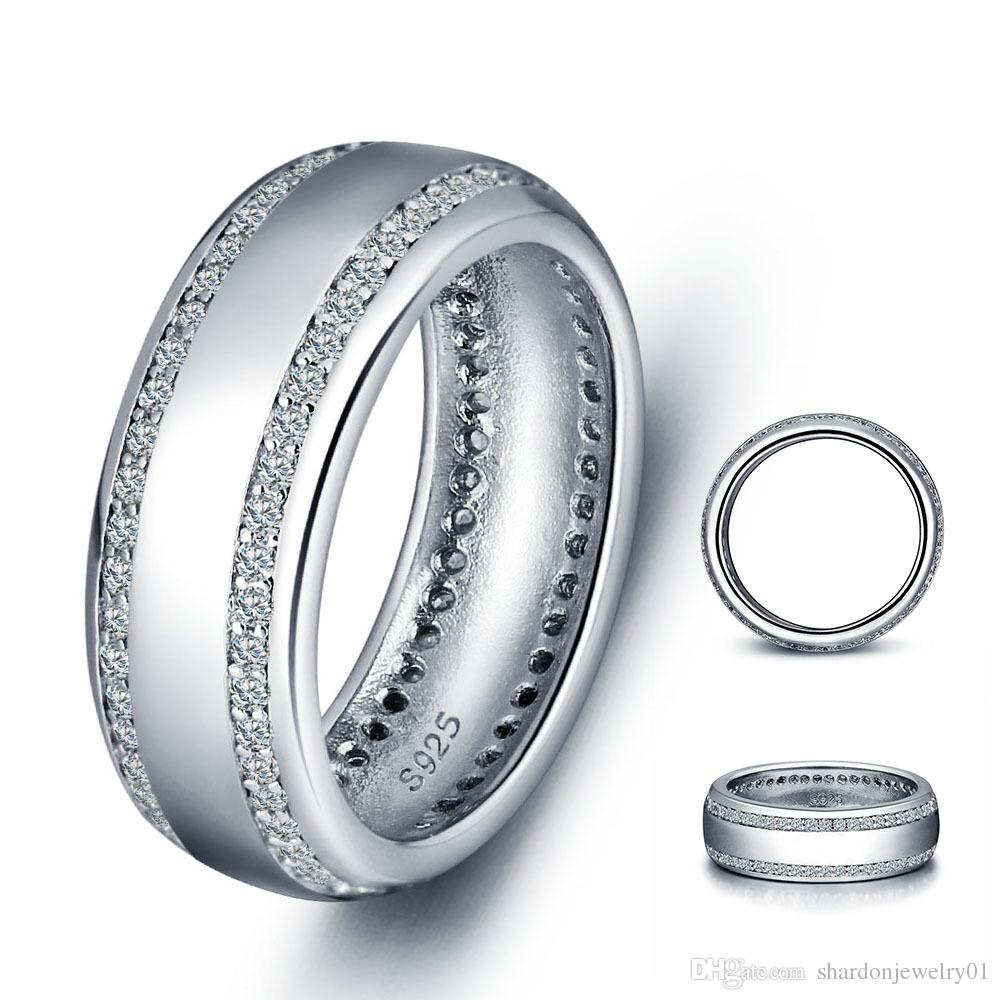new adec wedding rings silver never promise fade gold col luxurious white designs on band of ring luxury