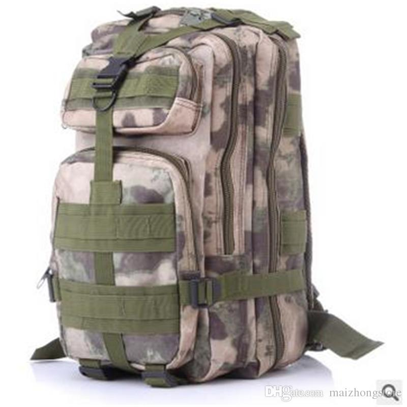 2017 Hot selling big Canvas 3P Tactical Attack Designer Backpack duffel bags shoulder bags sport bag for women and men