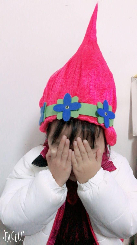 Dhl Free Trolls Poppy Wig For Kids 36cm Children Cosplay Party